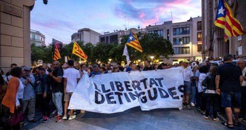 protestas por los detenidos de los cdr.